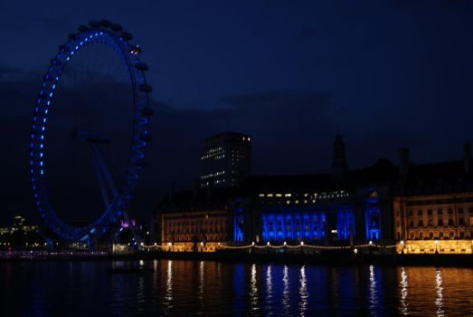 London Eye by polarbearjess