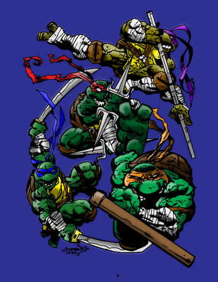TMNT - Badass by spiner-storm