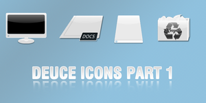 DEUCE icons by invaderjohn