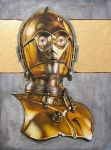 Portrait of a Droid (Private Commission) by paddavis