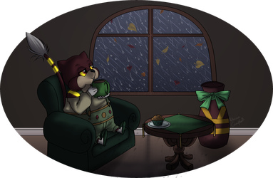 PKMNC: A Rainy Night by lady-obsessed