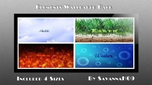 Elements Wallpaper Pack by SavannaH09