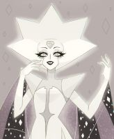 White Diamond | Steven Universe by Anghelorodriguez