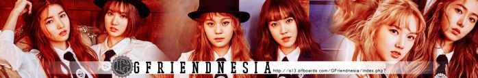GFriend Indonesian Forum Banner by Yoonz14