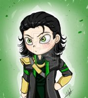 Loki chibi by Eilyn-Chan