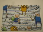 Finn and Jake Zipper Bag by colbyjackchz
