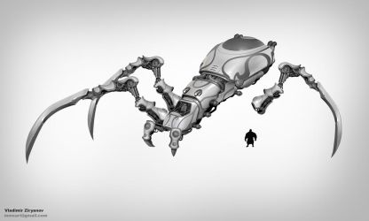 Preproduction concept art by mmx-v