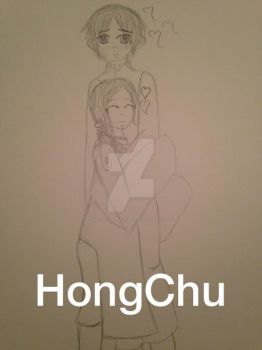 HongChu Rough Sketch by HetalianPrincess92