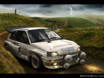Renault Clio Group B by EvolveKonceptz