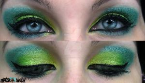 some makeup, some make believe by Breathtaken