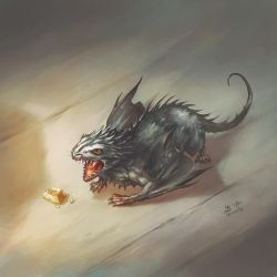 Dragon mouse by Tervola