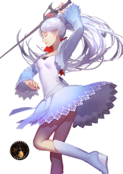 Weiss White RWBY Render by Vertify