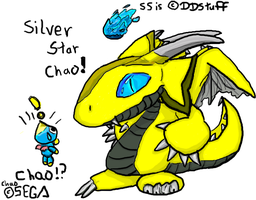 Silver Star Chao by DDStuff