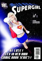 Supergirl by vincent-fourneuf