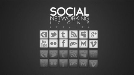 FREE Social Network Icons 1.0 by KHKreations