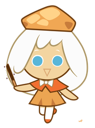 : Cream Puff Cookie : by Amazing-Girl-Forever
