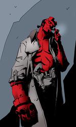 Hellboy by pungang