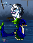 Ak'ta and Skull Rivalery by AngelCnderDream14