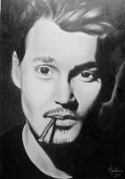 Johnny Depp by Urumiccina