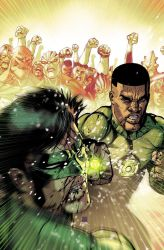 Green Lantern Corps cover by Maiolo