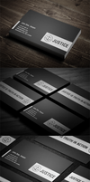 Lawyer business card pack by harmonikas996