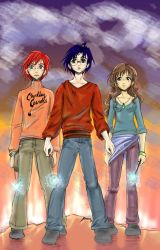 HARRY POTTER- We Three by Looby-the-Pirate