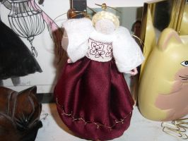 Christmas Angel by HypotheticalTextiles