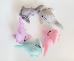 A Frenzy of Shark Plushes! by Skellytone