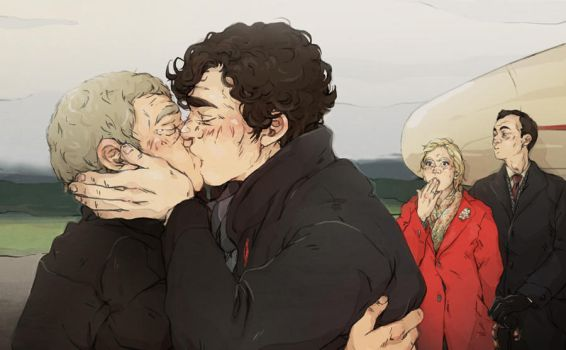 Sherlock: A proper goodbye by sweetlittlekitty