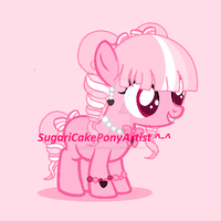 Sweet Fancy Filly Adopt (CLOSED!) by SugariSweetLolita