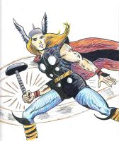 Rainbow Thor by SmudgeThistle