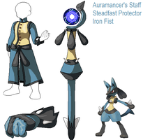 PSC Request- Lucario by Lybra1022
