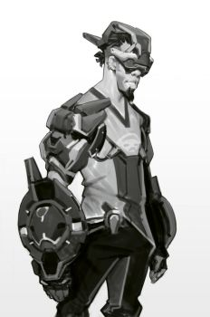 Overwatch FanArt Design. by Robotpencil