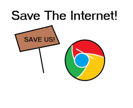 Save The Internet!!! by MitchTheLogoMan