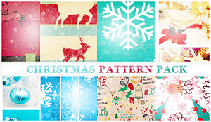 Christmas Pattern Pack by itskaname