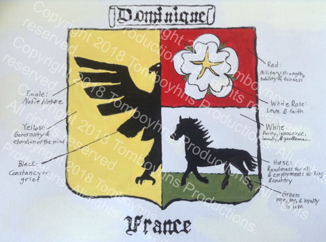 Dominique Coat of Arms by Tomboyhns