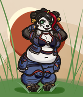 Lalanish the Pandaren by LLuxury