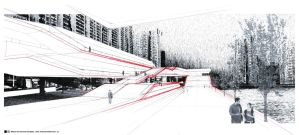 Macau Government Complex Persp by ZacaX