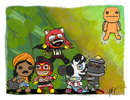 Little Big Planet buddies by offle
