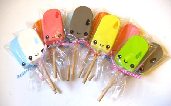 Cellophane Wrapped Lollies by kickass-peanut