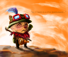 Captain Teemo by Hozure