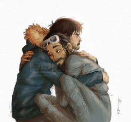 Bodhi and Cassian by CaptBexx