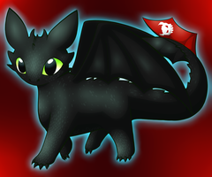 Toothless by CuteFlare