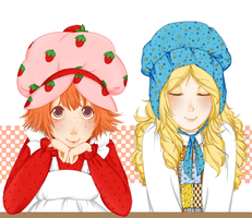 Strawberry and Holly by TeacupGhost