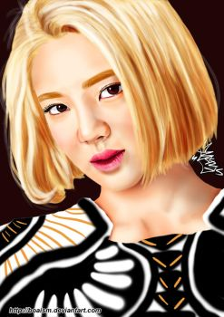 Hyoyeon Digital Painting 50 by BoAism