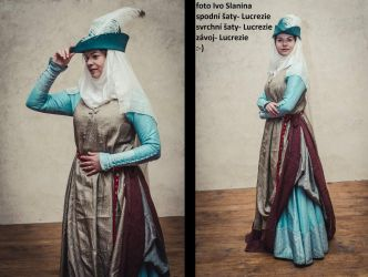 Medieval Fantasy Lady Dress by MedievalJunkie