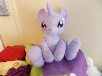 wip twilight sparkle teddy bear like plush by umbreon-boogiebambam