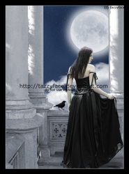 In her moonlit tower by tazzyface