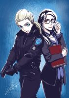 Rookie Blue_ Gail and Holly by HanningCathan