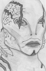 Abe sapien close up by Alaina19